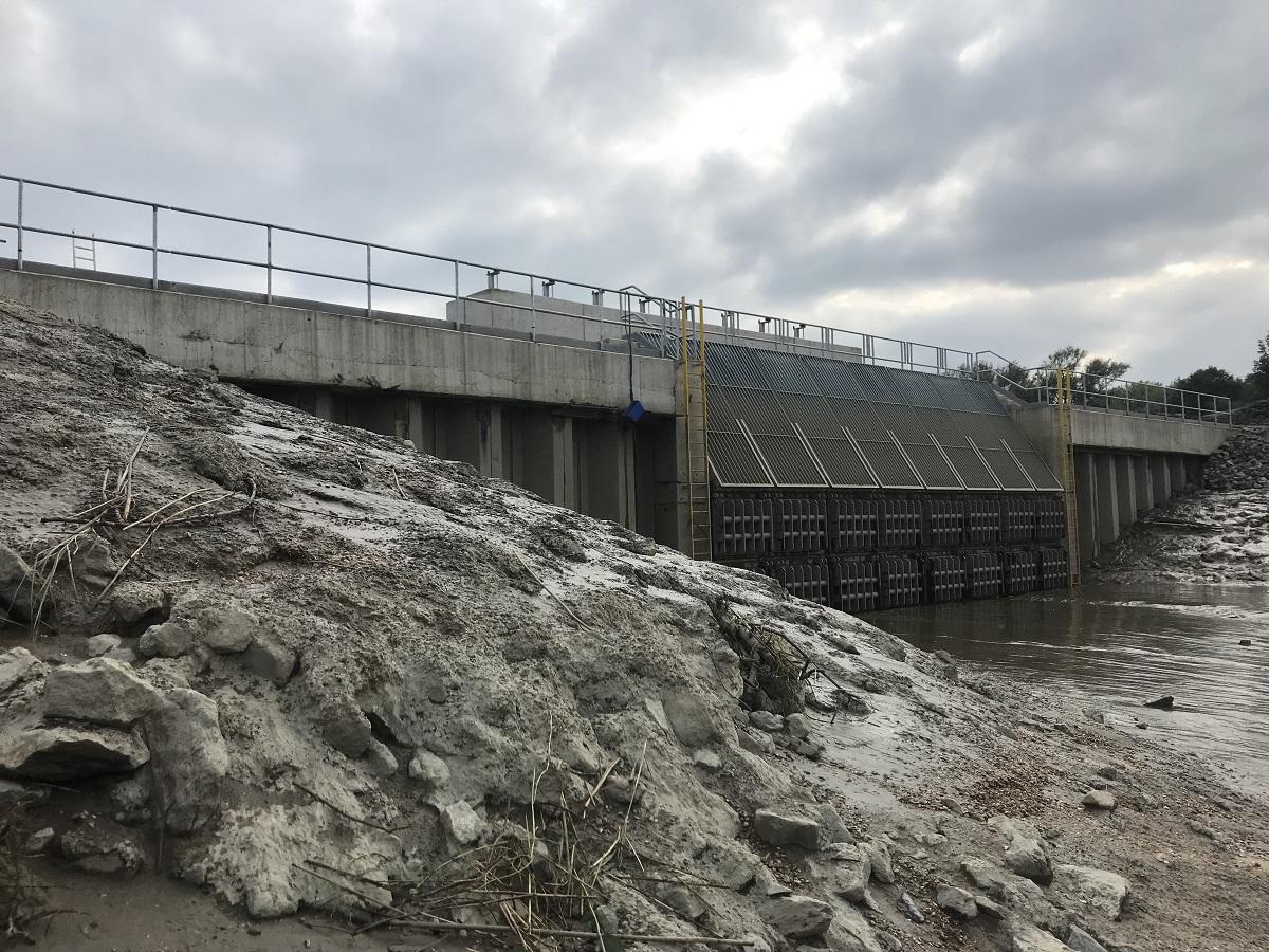 Canal Louvain-Dyle et Senne : construction des ponts cyclistes Sluis-netedijk